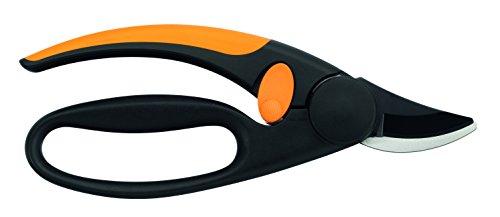 fiskars-bypass-gartenschere-fuer-frische-aeste-und-zweige-antihaftbeschichtet-hochwertige-stahl-klingen-laenge-21-cm-schwarz-orange-elegance-p44-1001534-2