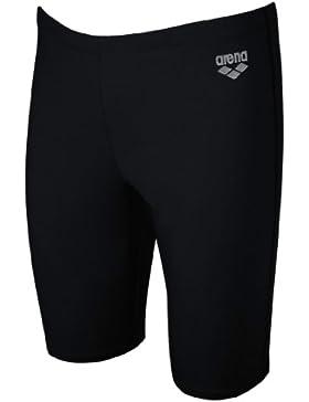 Arena - Boxer de natación para niño, tamaño 116 UK, color black,metallic_silver