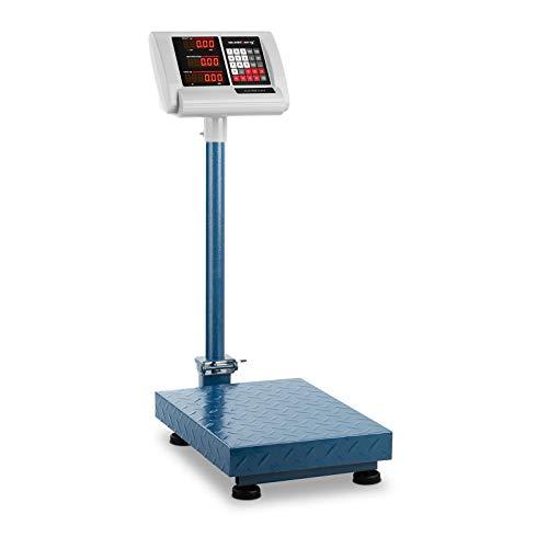 Báscula de plataformaSBS-PF-100/10B de Steinberg Systems La báscula de plataforma SBS-PF-100/10B de Steinberg Systems es un aparato profesional. Esta balanza de alta calidad resulta especialmente robusta y ofrece resultados de medición altamente pre...