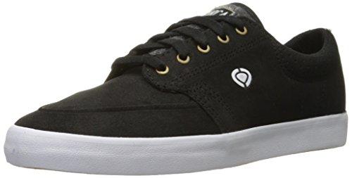 C1RCA Mens Transit Skate Shoe Black/White/Gum