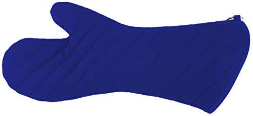 Naturhunger Topfhandschuh, Grillhandschuh, Ofenhandschuh BBQ-Lifestyle, Extended. Universalgröße Farbe: Blau