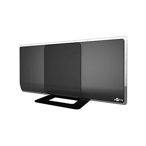 DVB-T2 Antenne aktiv mit Verstärker HDTV / Full HD Zimmerantenne (DAB / DVB-T) (Keller, Tv-antenne)