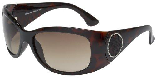 Schöne Marken Sonnenbrille für Damen von Burgmeister mit 100% UV Schutz | Sonnenbrille mit stabiler Polycarbonatfassung, hochwertigem Brillenetui, Brillenbeutel und 2 Jahren Garantie | SBM107-242