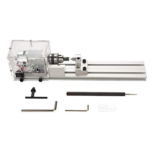 Teniendo en Vivo Centro Rotatorio DIY Piezas de Máquina de Mini Torno  Herramienta de Carpintería para 077a3d968535