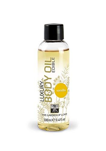 SHIATSU Edible Luxury Body Oil - Vanilla , 100 ml