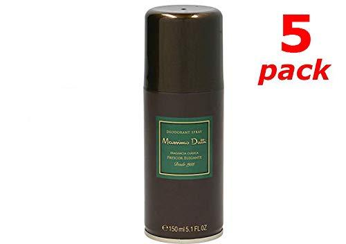 Massimo Dutti Deo Spray 150ml. Pack de 5