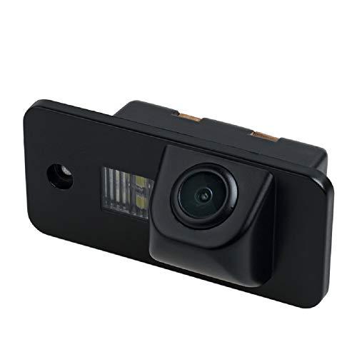 Rear Reversing Backup Camera Rearview Reverse Hole Replacement Camera Night  Vision Waterproof for Audi A1 A2 A3 8P A4 B7 A5 A6 A7 RS4 TT S5 S4 S3 Q5