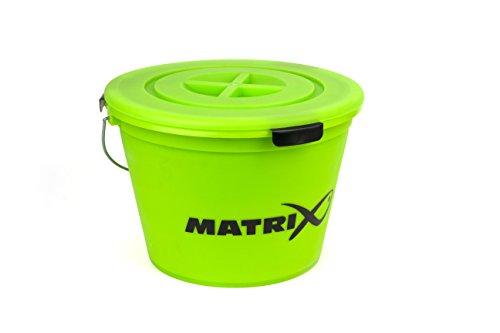 Fox Matrix Bucket Set Lime GBT020 Futtereimer Eimer Futtersieb Sieb Deckel Baitbucket