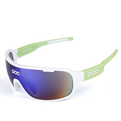 46f9662451a OPEL-R Outdoor riding half frame polarized sport glasses sunglasses
