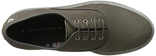 Tommy Hilfiger P1285aulina 5n, Scarpe Oxford Donna Grigio (Urban Grey)
