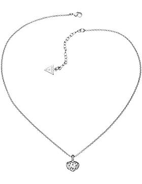 Guess Halskette , Herzform , silberfarben - UBN51419