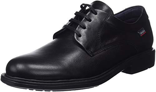 Callaghan Cedron, Zapatos Cordones Derby Hombre, Negro