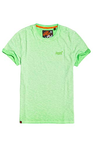 Superdry Herren Low Roller Tee T-Shirt, Grün (Surge Green Ow5) X-Large (Herstellergröße: XL)