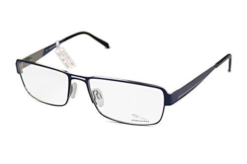 Preisvergleich Produktbild JAGUAR Herren Brille Modell 33058 819 in blau Größe 57-17