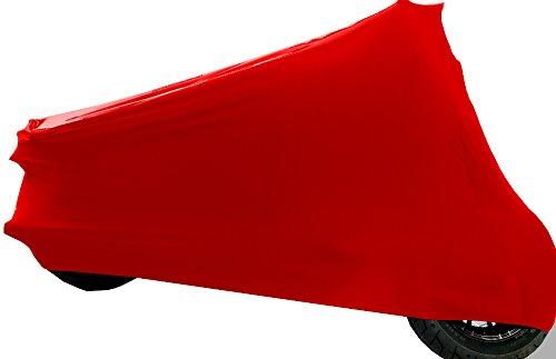 """Car-e-Cover Motorradplane Motorrad Abdeckung Abdeckplane """"Perfect Stretch"""", elegant formanpassend Innen, passend für Yamaha XZF-R 125 in drei Farben"""