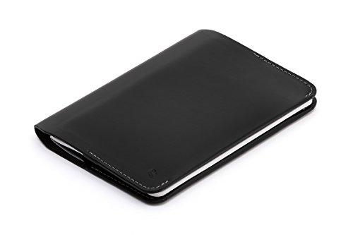 Cartera de piel Bellroy para hombre Notebook Cover Mini, Black