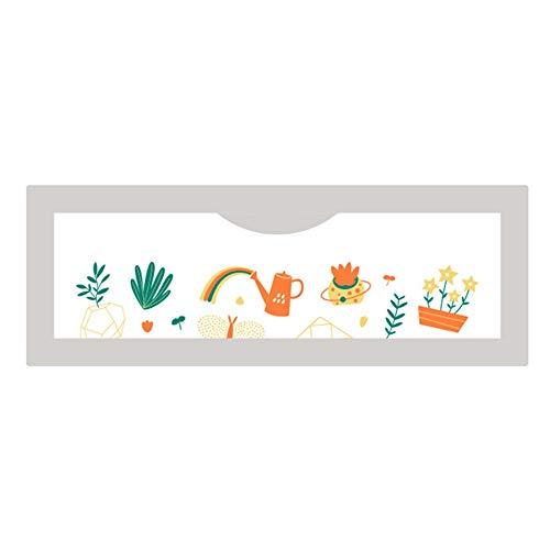 Barrières MAHZONG Le lit entourant Le déflecteur de Anti-Chute de bébé renforcent l'épaississement -180cm, 200cm (Taille : L-200cm)
