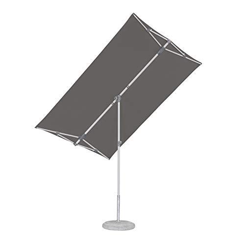 Suncomfort by Glatz Flex Roof Sonnenschirm, Stone Grey