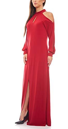 Ashley Brooke Damen Designer-Abendkleid, rot, Größe:40