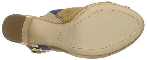 HÖGL - 1- 10 9632, Scarpe col tacco con cinturino a T Donna Beige (Beige (9900))