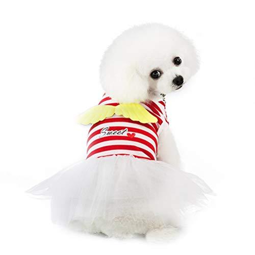 Rock Pudel Kostüm Muster - Pet Puppy Kleider Kleidung Niedlich Und Süß Engel Kleid Tutu Rock Pudel Shih Tzu Hochzeit KostüM