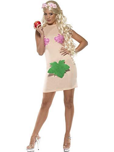 Kostüm Englischer Garten - Eva Kostüm für Damen Evakostüm Garten Eden nackt Schöpfung Paradies Kleid Paradieskleid Gr. 36/38 (S), 40/42 (M), Größe:M