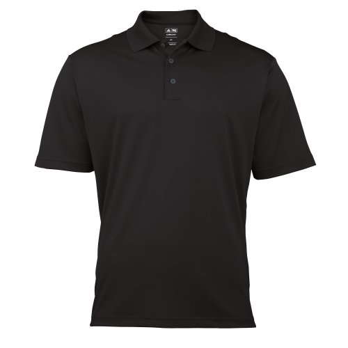 Adidas Golf Herren Polo-Shirt Climalite, Kurzarm (Medium) (Schwarz) (Golf Climalite)