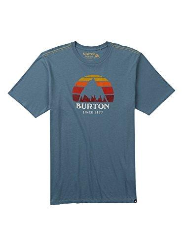 Burton Herren Underhill Logo T-Shirt La Sky
