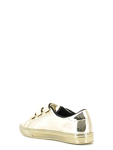 Versace Jeans sneaker donna tacco basso colore oro specchio E0VOBSF3 75399 901 nuova collezione Autunno Inverno 2016 2017 MIRROR