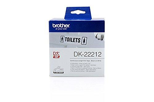 Preisvergleich Produktbild Brother P-Touch QL 1060 N - Original Brother DK-22212 P-Touch (Endlos-Etikett, Film) -