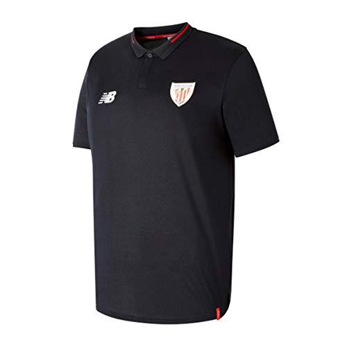 New Balance AC Bilbao Essentials 2018-2019, Polo, Black, Talla L