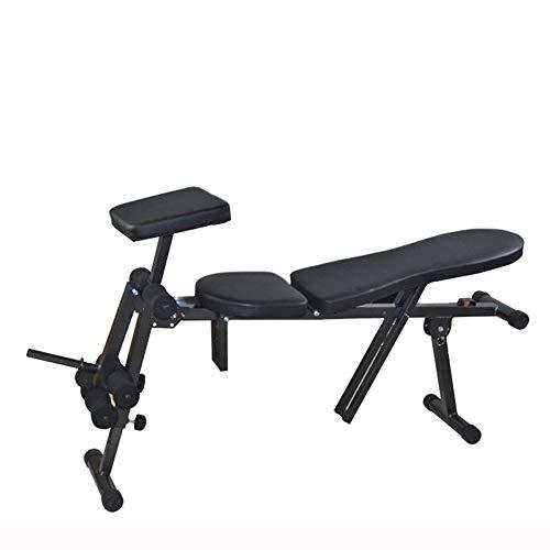 MASODHDFX Einstellbare Multifunktions-Sit-Up-Bauch-Hantel-Bänke Board Abdominal Exerciser Ausrüstungen