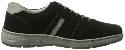 Waldläufer Hadrian, Chaussures à Lacets Homme Mehrfarbig (schwarz grau)