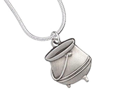 Medaillon Potter Halskette Harry (Offizielles Harry Potter Jewellery Anhänger Zaubertrank Kessel)