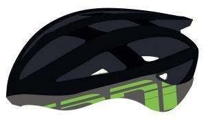 Cannondale Caad MIPS Rennrad Fahrrad Helm schwarz/grün 2017: Größe: L/XL (58-62cm)