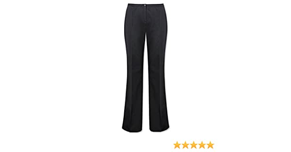 53c3c4bc65b Beauty Salon Uniform Bootleg Trousers NF965U: Amazon.co.uk: Clothing