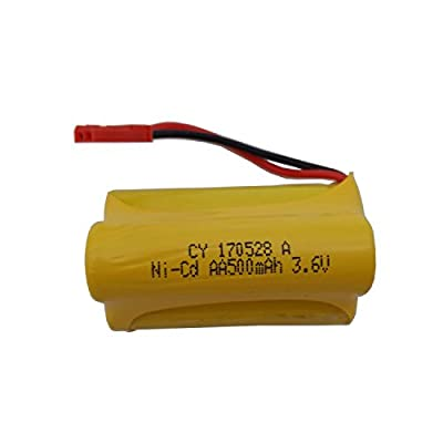 SZJJX 3.6V 500Mah Rechargeable Spare Battery Pack for Remote Control High Speed Electric Race Boat 4 Channels JX802