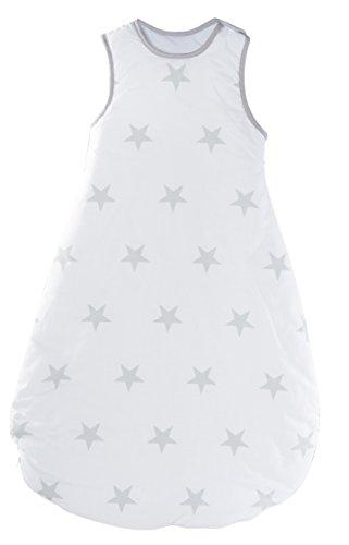 roba Schlafsack, 90cm, Babyschlafsack ganzjahres/ganzjährig, aus atmungsaktiver Baumwolle, Baby- und Kleinkinderschlafsack unisex, Kollektion \'Glücksengel\'