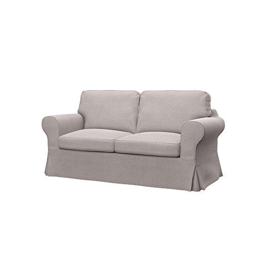 Soferia - IKEA EKTORP Funda para sofá Cama de 2 plazas, Elegance...