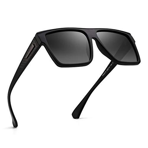 JIM HALO Occhiali da Sole Polarizzati Aviatore Occhiale Pilota Metallo Retr/ò Uomo Donna