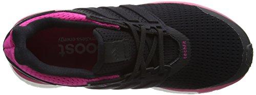 adidas Supernova Glide 8, Damen Laufschuhe Training Core Black/Core Black/Eqt Pink