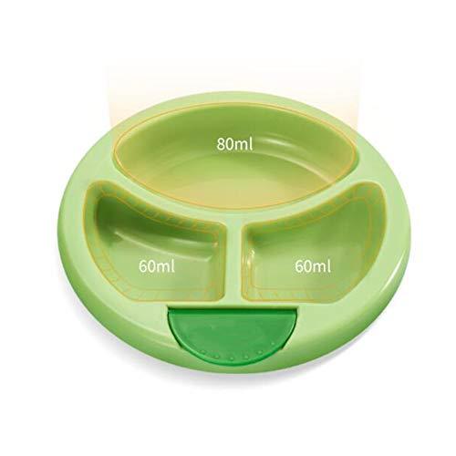 TongN Wasser-Einspritzungs-Isolierungs-Schalen-Schüssel-Baby-Kind-Abteilungs-Platten-Kind-Trennung, die die Ausbildung des kleinen Geschirrs isst Footed Teller