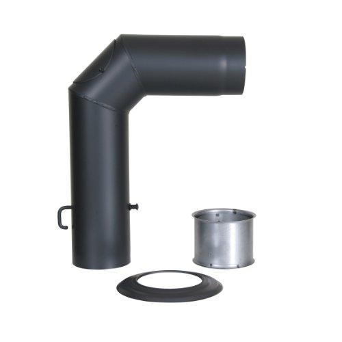 Kamino - Flam – Juego de tubos para chimenea, Set de tubos...