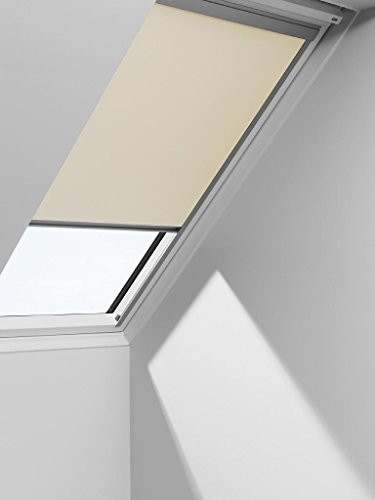 VELUX Blackout Blinds Easy Fit Quality Roof Window Roller in Light Beige 1085