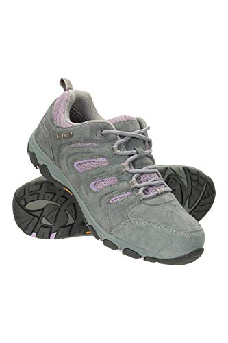 Mountain Warehouse Aspect Womens Waterproof ISOGRIP Shoes - Longlasting Ladies Hiking Shoes, Durable, Mesh Lined Footwear, Heel & Toe Bumpers - Best for Camping, Walking