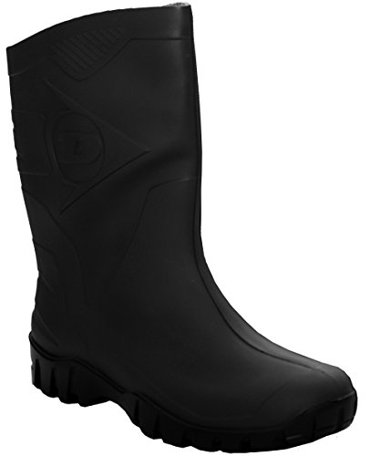 Dunlop Mens Mid Calf Waterproof Dog Walking Festival Rain Snow Wellies Wellington Boots Sizes UK 6-12