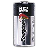 Energizer-Batterie al litio Photo Lithium CR123, confezione da 2