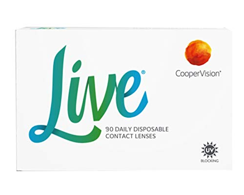 Live daily disposable Tageslinsen weich, 90 Stück/BC 8.6 mm/DIA 14.0 mm / -5.5 Dioptrien