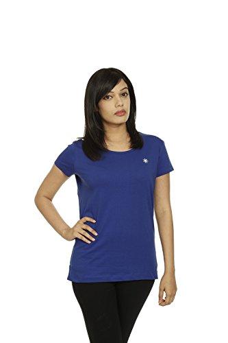 Zeven Essentials Women Round neck T-Shirt, Blue