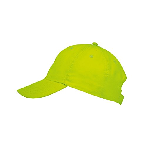 sols-unisex-meteor-6-panel-plain-baseball-cap-one-size-neon-green
